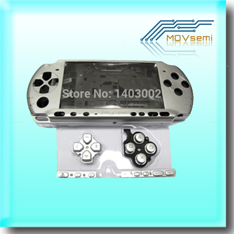 Image 3 - Free shipping For PSP3000 PSP 3000 Shell Old Version Game Console replacement full housing cover case with buttonspsp 3000psp replacementpsp 3000 shell -
