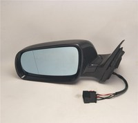 Osmrk Car Side Rear View Mirror with led turn signal and electric foldable+ heated for Audi A6 2002 2003