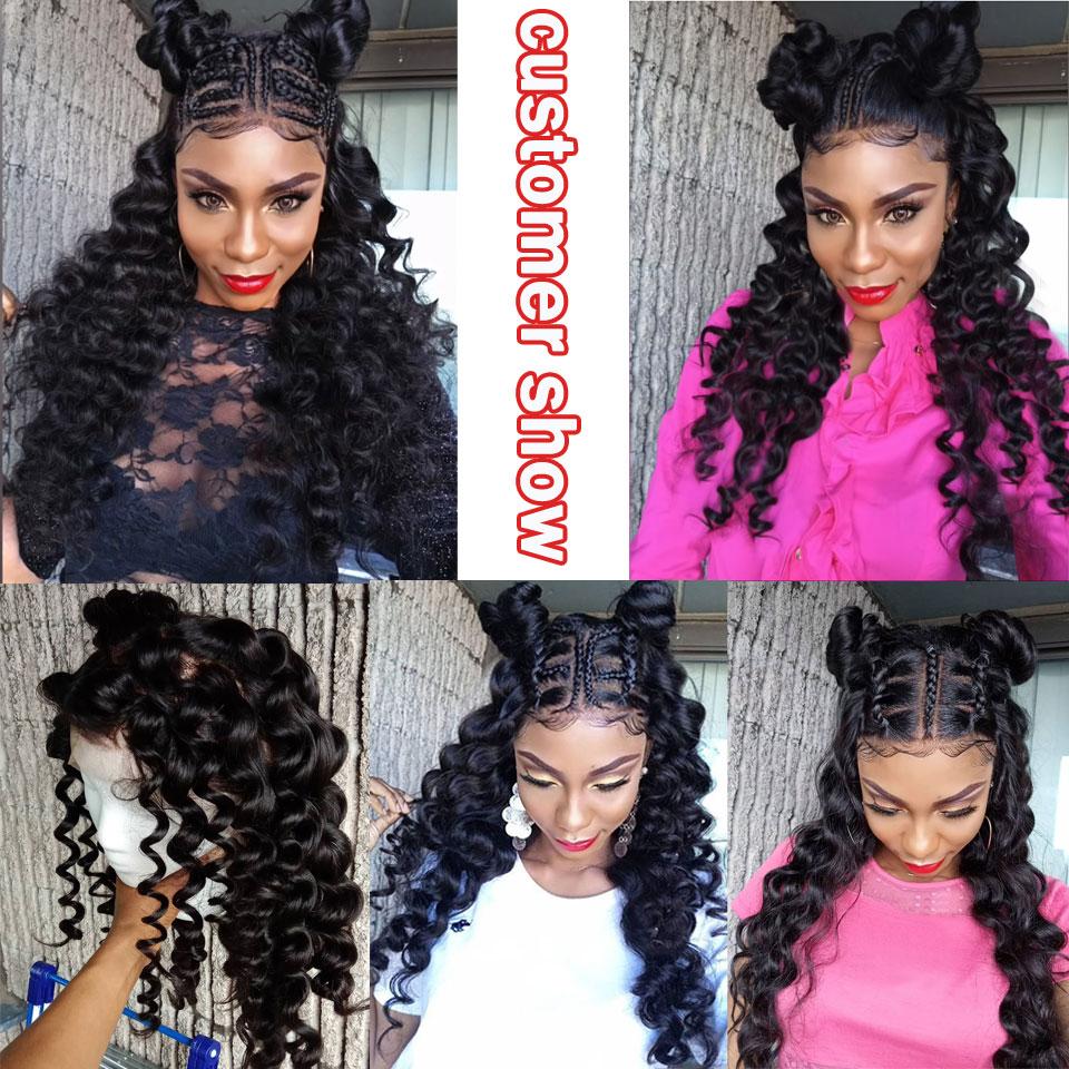 brazilian-loose-wave-4-bundles-with-closure-human-hair-bundles-with-closure-Peruvian-hair-weave-bundles-with-closure-lanqi-hair