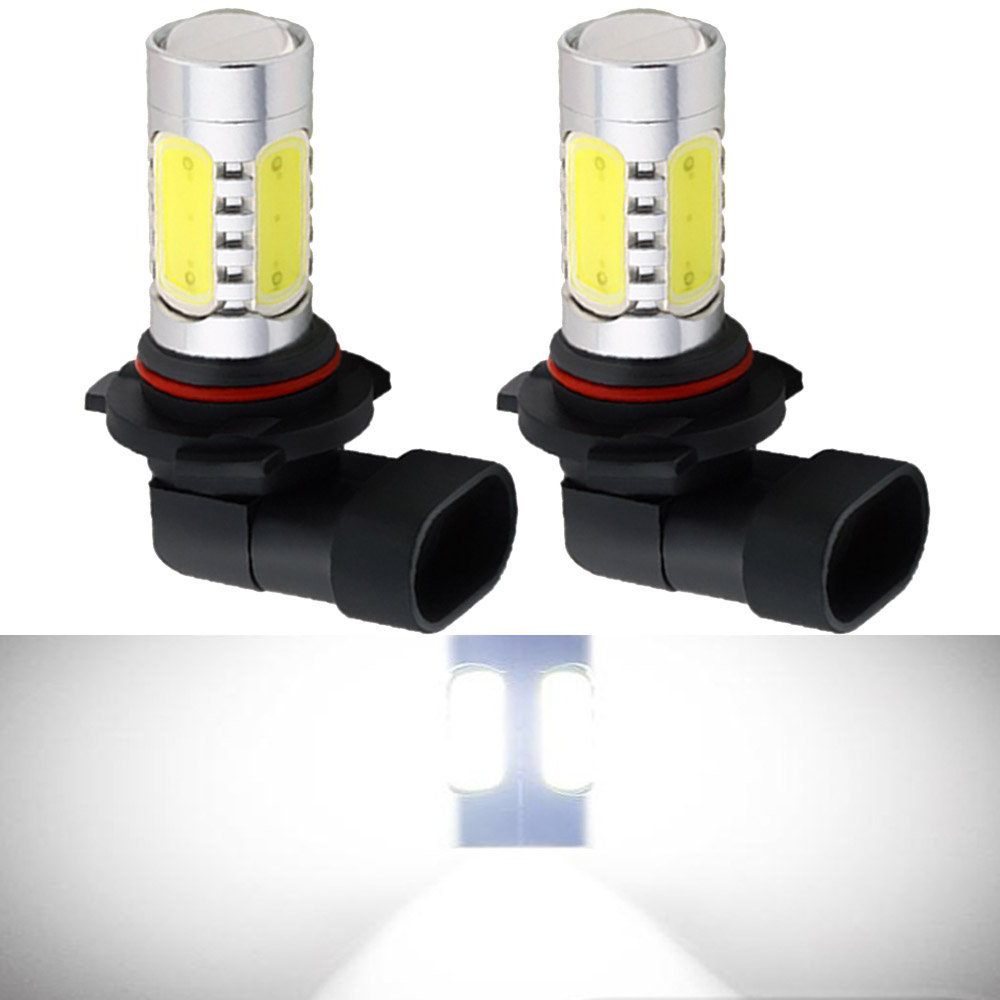 2pcs H8 H11 7.5W High Power COB LED Bulb Car Auto Light Source Projector DRL Driving Fog Headlight Lamp lights Xenon White 12V