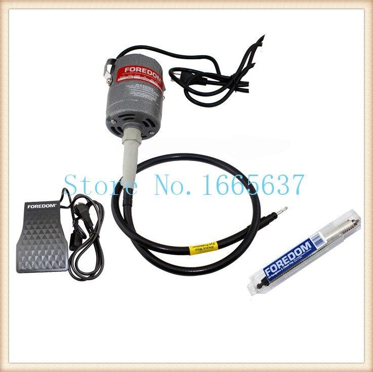 oo FREE SHIPPING 220v Foredom Flex Shaft Motor , Dremel polishing Motor jewelry tools