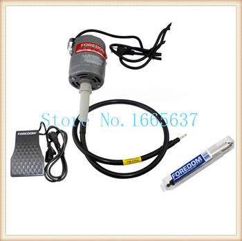 oo FREE SHIPPING 220v Foredom Flex Shaft Motor , Dremel polishing Motor jewelry tools
