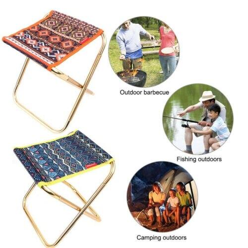 Nieuwe Draagbare Vouwen Kruk Outdoor Camping Vissen Picknick Mini Stoel Seat Stoel