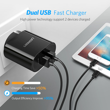 USB 3.4A 17W for iPhone Dual Mobile Phone Charger