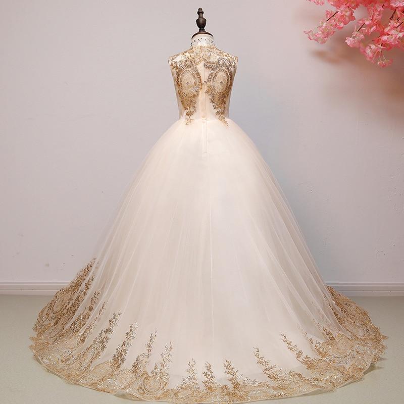 Fille Boutique robe de demoiselle d'honneur robes enfants tenue de fête de mariage robes adolescents demoiselle d'honneur robes de bal perles broderie Drese - 3