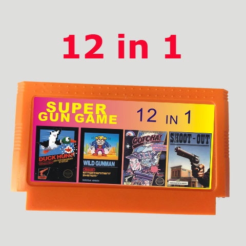 Hot selling 8 bit game cartridge best gift for children ———-  12 in 1 games