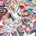 300 pcs Sticker Mixed Funny Cartoon Decal Skateboard Doodle Snowboard Luggage Home Decor Brand Car Bike Moto Toys Jdm Stickers
