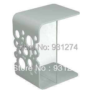 Черный Акрил сторону стола/конец столик/кровать/perspex журнальный столик/мебель для гостиной/акрил мебель