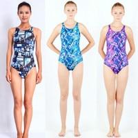Swimwear Women Arena One Piece Swimsuit Competitive Swimming One Piece Suits Racing Swimsuits Girls Bathing Suits