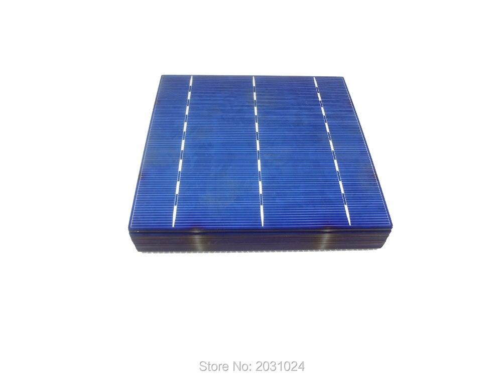 60 pcs 4 3 w poly 6x6 celular para diy painel solar celula solar celula policristalino