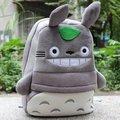 Meu Vizinho Totoro Plush Backpack Schoolbag
