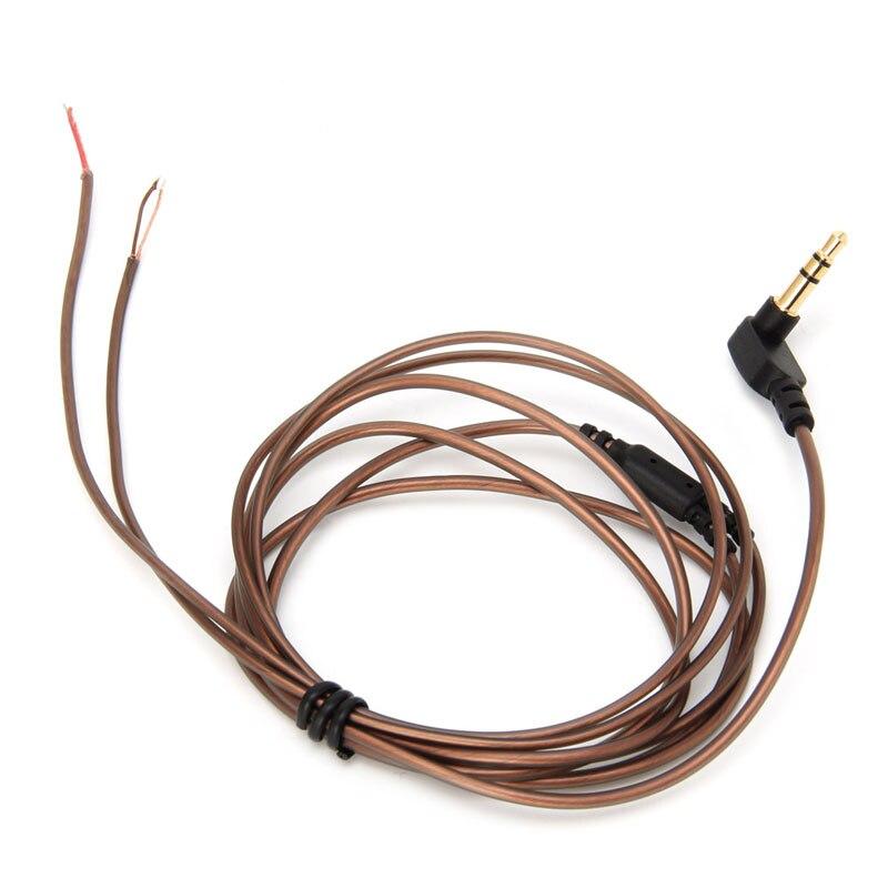 KZ 3.5mm Jack 56-Strand DIY Headphone Audio Cable Earphone Maintenance Wire 1.2m