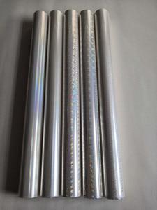 Image 2 - Holographic foil transparent foil different design mixed stamping foil hot press on paper or plastic  transfer