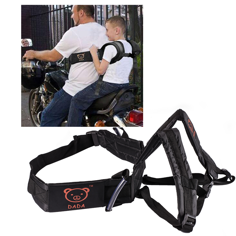 New Adjustable Motorcycle Baby Safety Seat Strap Belt