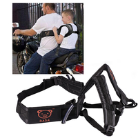 New Adjustable Motorcycle Baby Safety Seat Strap Belt Strap Carrier Dirt Bike Children Safety Motorcycle Seat