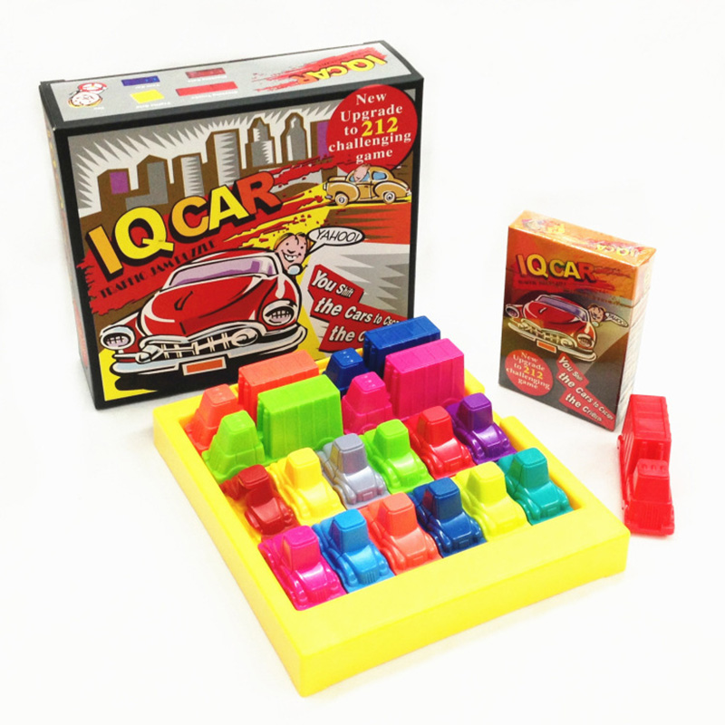Education Game IQ Car  Board Game Puzzle Automobile Race  Games