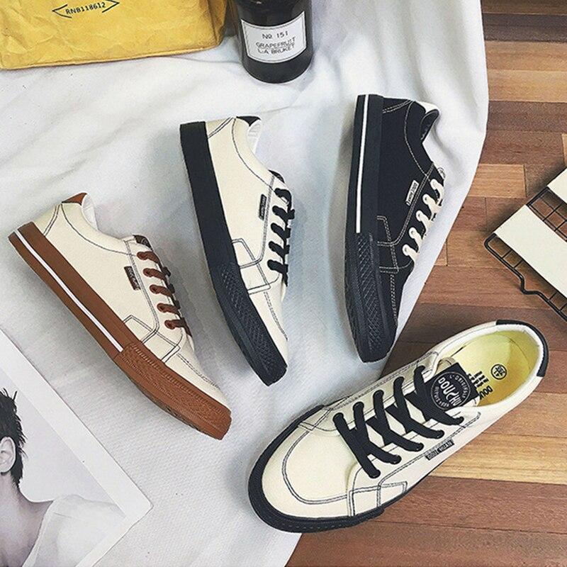 2018 Fashion Casual Shoes meestele Tennis Cavas kingad Flat - Meeste jalatsid - Foto 3