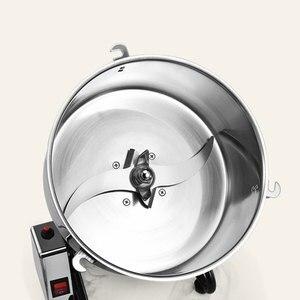 Image 4 - Электрическая пищевая мельница из нержавеющей стали 4500 г, шлифовальный станок 220 В 110 В для трав/специй/зерен/кофе, для сухого порошка, муки