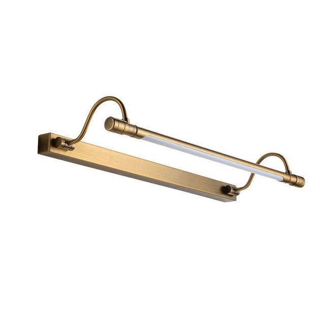 54/68 cm Badezimmer Spiegel Lampe Wasserdichte Bronze Schrank ...