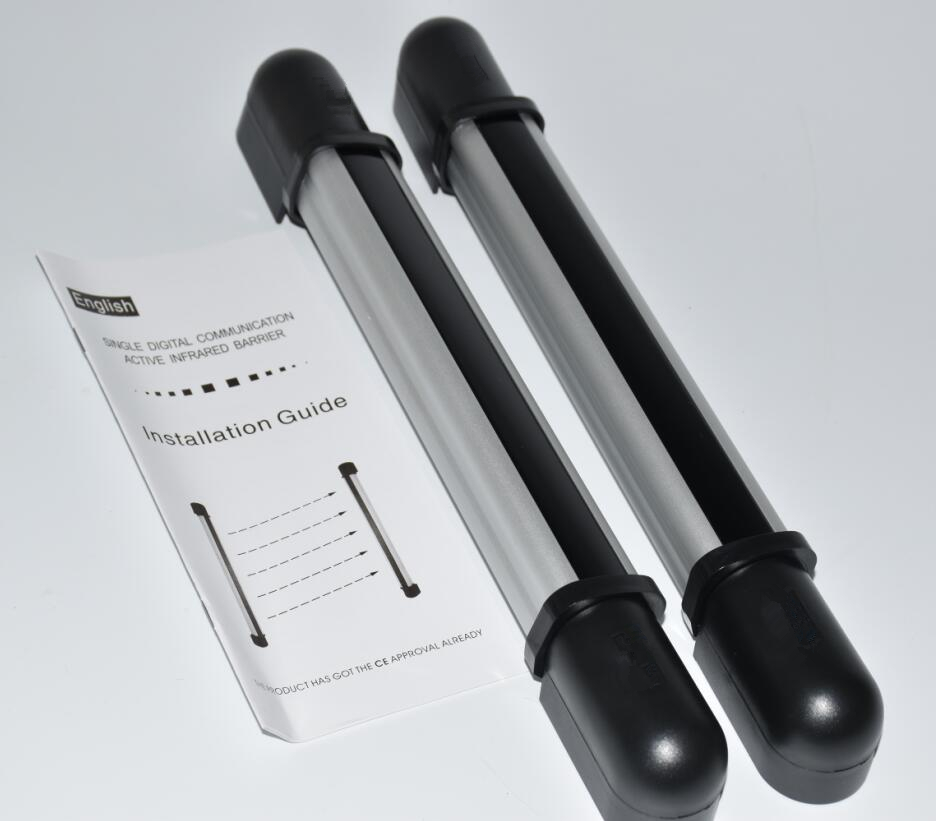 2 Beams IR Fence Infrared Sensor Distance 30M Wiring Infrared Barrier Detector Gate Photocell Sensor