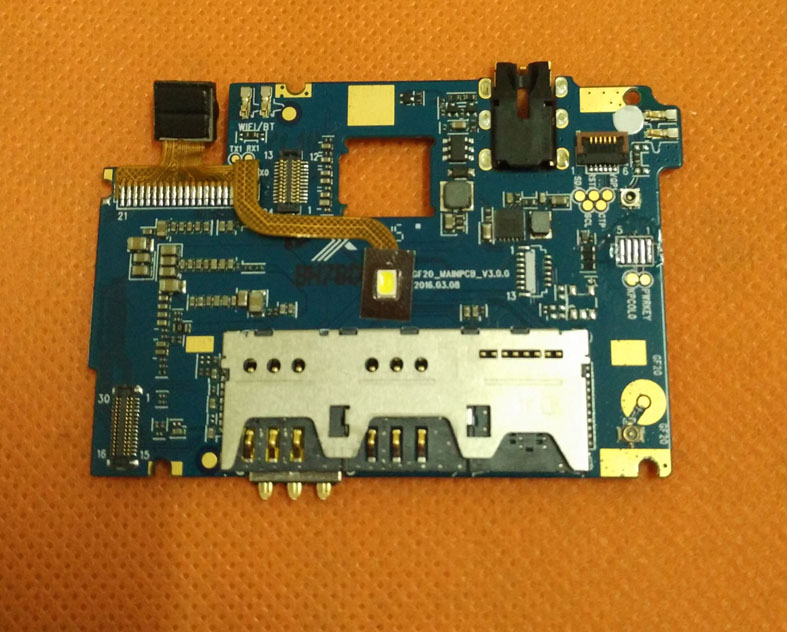 Original motherboard mainboard for HOMTOM HT7 Pro MTK6735P Quad Core 5.5 HD 1280x720 Free shipping