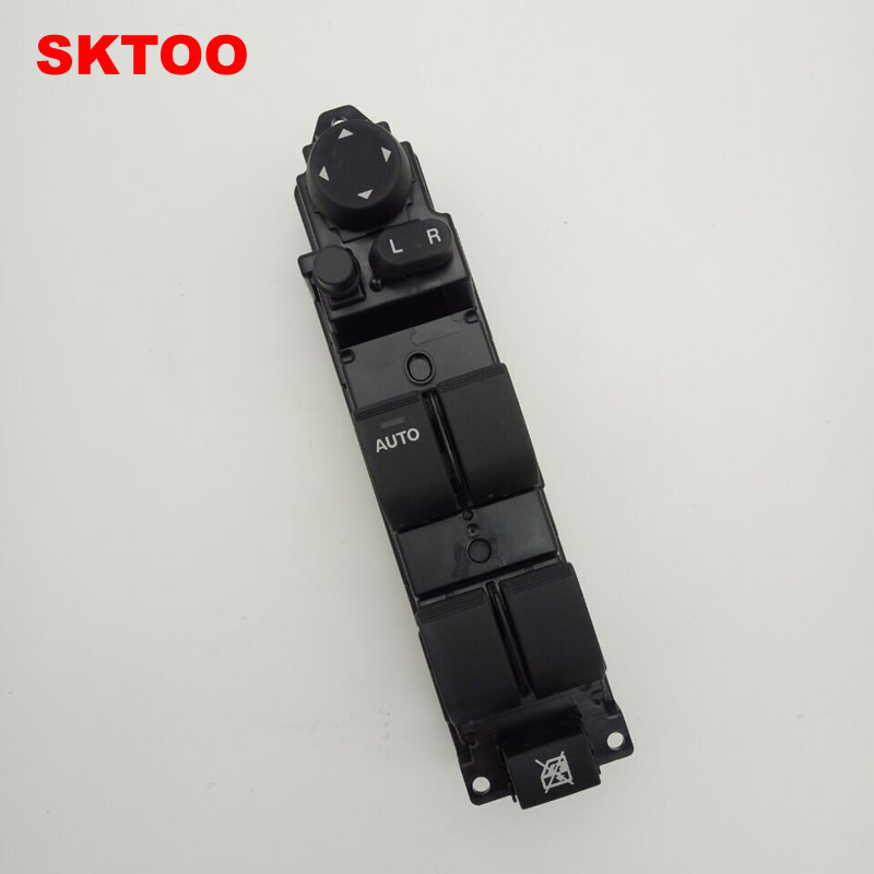 SKTOO window lifter switch for 2007-2013 Mazda 2 glass lifter switch left front door and window switch цена