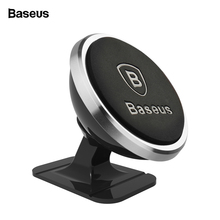 Baseus Magnetic Car Phone Holder For iPhone XS X Samsung Magnet Mount Car