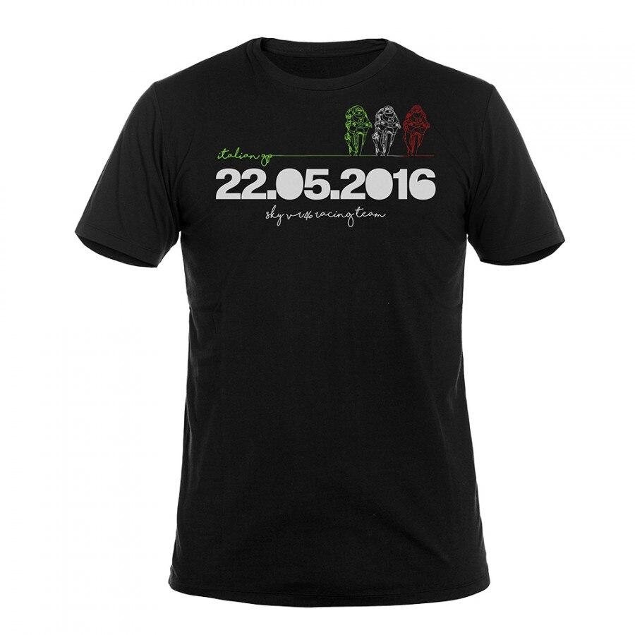 Valentino Rossi VR46 Mugello Racing Team VR 46 t shirt Sport Moto GP Men s T