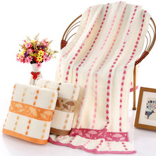 1PC 70x140cm New Bath Towel Exquisite Design Non-twisted Bamboo Fiber Baby Wash Spa Facial High Quality For