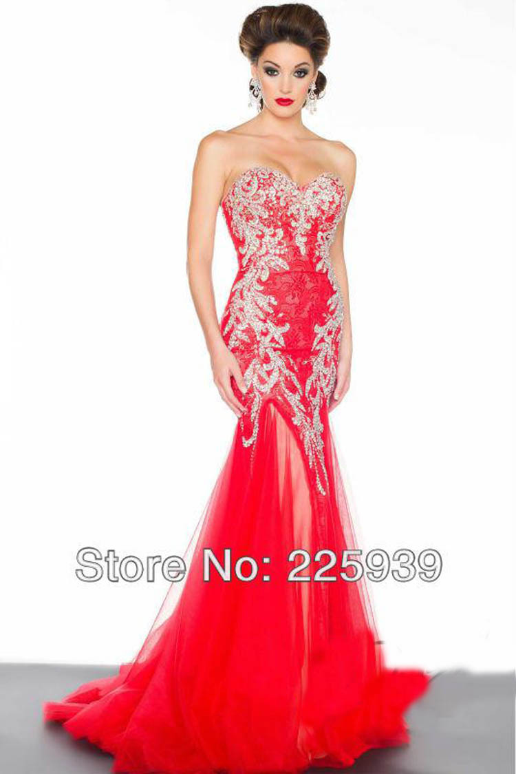 Beautiful evening dresses for less
