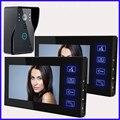 """HD 7"""" Color Video Door Phone Doorbell Video Intercom Doorphone IR Night Vision Camera Doorbell Kit for Apartment Security"""