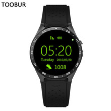 Smart Uhr Android 5.1 Tragbare Geräte, Toobur GPS Tracker 3G Wifi MTK6580 Quad Core Smartwatch mit 2.0MP Kamera