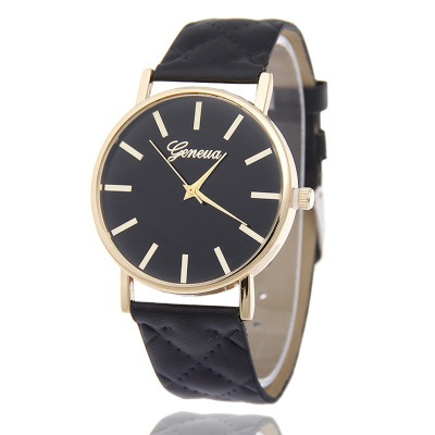 New Fashion Brand Watches Geneva Men Women Casual Quartz Watch faux Leather Wristwatch Relogio feminino Montre Femme Hot Sale 2016 new fashion geneva women watch diamonds dress ladies casual quartz watch leather wrist women watches brand relogio feminino