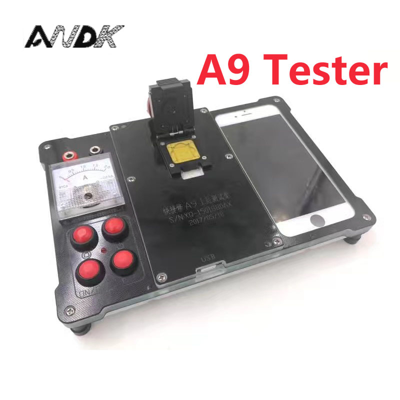 New for iphone 6 6s plus 6p 7 A8 A9 Cpu testing ic chip Test stand Tester Good or bad Tools Maintenance test fixture