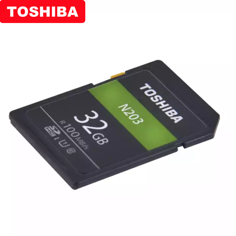 Image 4 - Original TOSHIBA  High Speed Memory SD N203 32G 64G 128G U1 SD Card Support Full HD Shooting for Canon Nikon Digital SLR Camera-in Memory Cards from Computer & Office