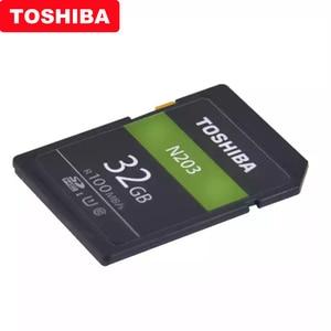 Image 5 - Original TOSHIBA High Speed Speicher SD N203 32G 64G 128G U1 SD Karte Unterstützung Full HD Schießen für Canon Nikon Digital SLR Kamera