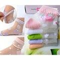 Baby Girls Summer Thin Mesh Socks Kids Jacquard Short Sock for Children 2 to 7 years, 1pcs/lot