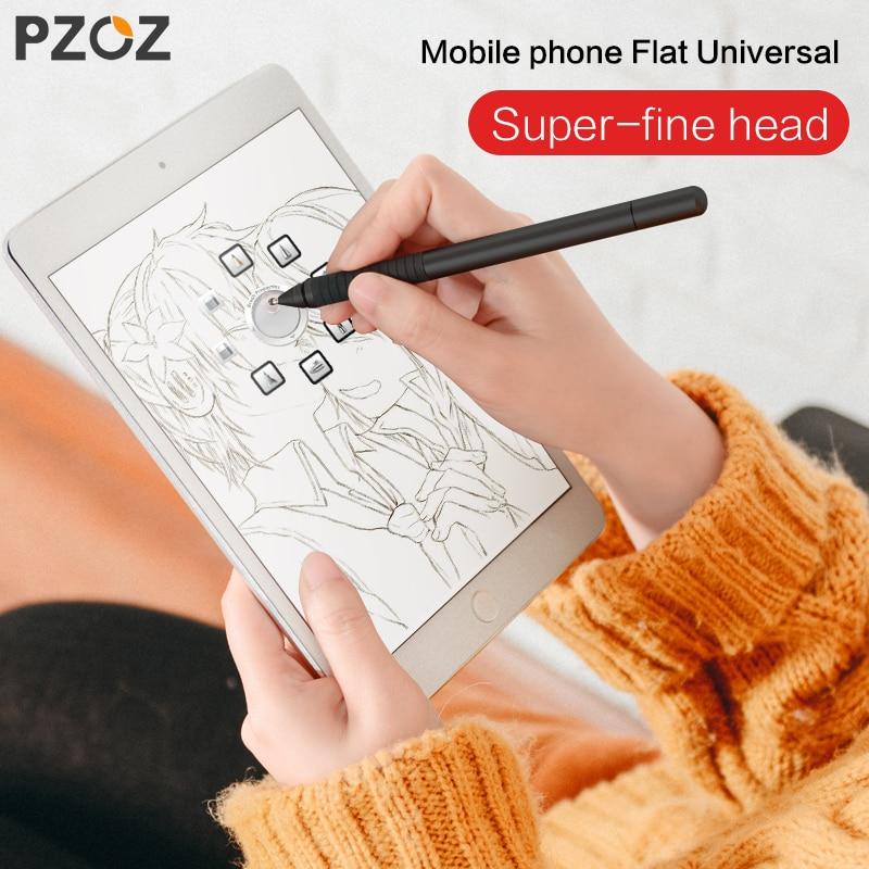 PZOZ mobile phone stylus Per ipad mini air pro Attivo penna di capacità di tocco della penna della pittura Schermo Capacitivo Tavoletta Stilo