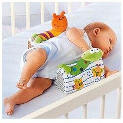 Bebê infantil recém-nascido anti rolo travesseiro sono positioner evitar almofada de cabeça plana