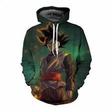 Dragon Ball Z 3D Print Pullovers Hoodie
