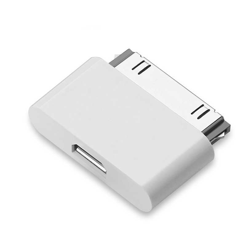 Ascromy Micro Usb Adaptor Pengisian Converter untuk Apple Iphone 4S 4 3GS Iphone 4S untuk iPad 2 3 30pin Kabel Charger Line Usb 30 Pin