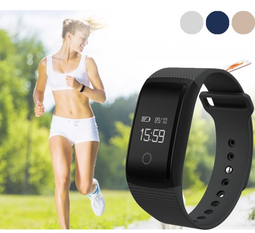4 0 Bluetooth Version IP67 Waterproof Level A09 Bluetooth NFC Wireless HD Heart Rate Smart Watch