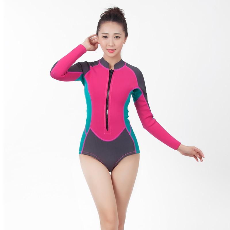 6779d001c0cd € 45.21 |2015 más reciente mujer traje traje Top mujer de neopreno de  natación traje en de en AliExpress.com | Alibaba Group