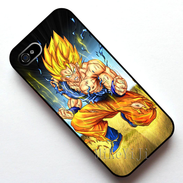 #11951 Dragon Ball Z Super Saiyan Goku Case Cover, Case for Apple Iphone 4s