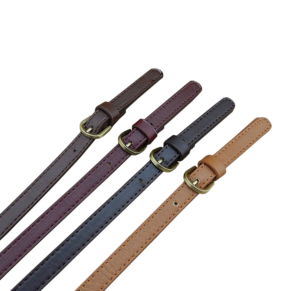 FASHIONS KZ 2PCS 70cm PU Leather Bag Strap Handbag Handle Adjustable Replacement Diy Shoulder Bag Belt Accessories Kz0332