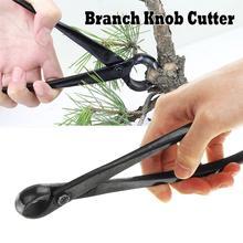 Cortador de borda redonda, ferramentas iniciantes de bonsai multifunção como cortador de ramos e maçaneta cortador de 210 mm de aço carbono