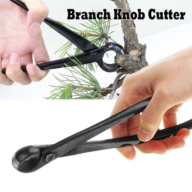 Round Edge Cutter Beginner Bonsai Tools Multi   Function As Branch Cutter and Knob Cutter 210 mm Carbon Steel