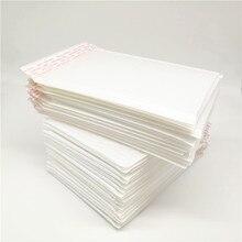 10 шт./партия(16*22,5 мм) водонепроницаемые белые объемные конверты упаковка почтовые пакеты Сумка-конверт офисные принадлежности для отправки почтой