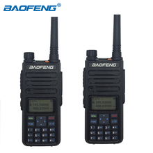 BaoFeng DM 1801 DMR Digital Walkie Talkie Digital Anolog Dual mode Two Way Radio VHF UHF 5W Dual Band Tier I/II Transceiver 2pcs