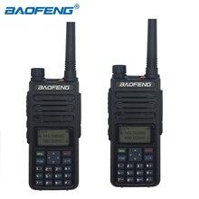 BaoFeng DM 1801 DMR dijital telsiz dijital analog çift modlu iki yönlü telsiz VHF UHF 5W çift bant kademe I/II alıcı verici 2 adet
